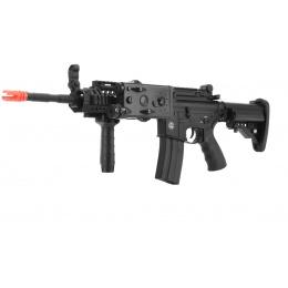 DBoys Full Metal RAS M4 Airsoft AEG with Vertical Grip - BLACK