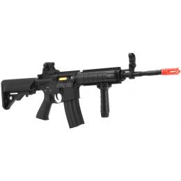 DBoys Tactical CQB-R M4 Full Metal Airsoft AEG with Crane Stock