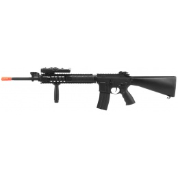 DBoys M16A4 RIS Full Metal Airsoft AEG w/ PEQ Box and Foregrip