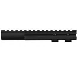 ZVD Arms Airsoft AK74 Aluminum Top Handguard Gas Tube Rail - BLACK