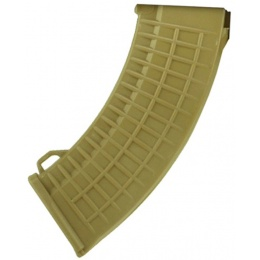 ZVD Arms 550rd Thermold Waffle High Capacity AK47 AEG Magazine - TAN