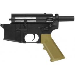 Golden Eagle 350 FPS Full Metal CQB Lower Receiver - BLACK/TAN