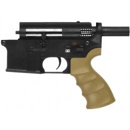 Golden Eagle M27 Ergonomic Full Metal Lower Receiver - BLACK/TAN