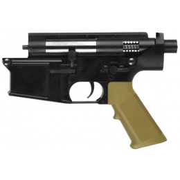 Golden Eagle SR-25 Full Metal Lower Receiver - High Velocity - TAN