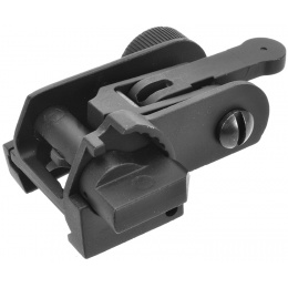Golden Eagle Classic Flip Up Rear Sight for 20mm Railed Airsoft AEG