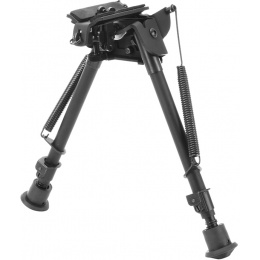 Golden Eagle Retractable Heavy Duty Bipod - Picatinny & Stud Mount