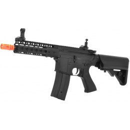 GE M4 Carbine Airsoft AEG Rifle w/ Full Metal KeyMod RIS - BLACK