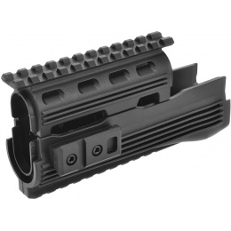 Golden Eagle Airsoft AK47 RIS Polymer Tactical Handguard - BLACK