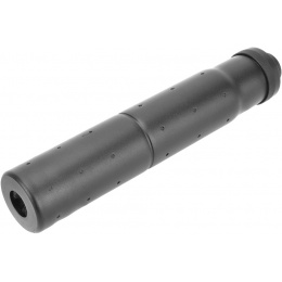 Golden Eagle Airsoft 14mm CCW Threaded Aluminum Mock Suppressor- BLACK