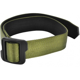 Cytac Reversible Nylon Tactical Belt w/ Polymer Buckle - OD/BLACK