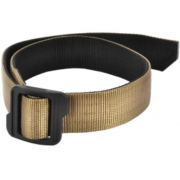 Cytac Reversible Nylon Tactical Belt w/ Polymer Buckle - TAN/BLACK