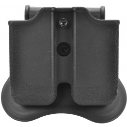 Cytac Dual Single-Stack Gas Pistol Magazine Holster w/ Rotating Clip