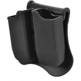 Cytac Dual Glock-Style Pistol Magazine Holster w/ Rotating Belt Clip