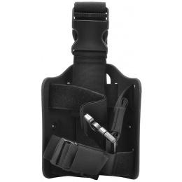 Cytac Airsoft Tactical Drop Leg Holster Platform - BLACK