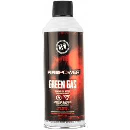 FirePower Airsoft Green Gas 8 Ounce Can for Gas Guns - 1 Can