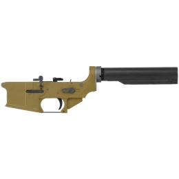 WE Tech Full Metal Lower Receiver for M4A1 GBB Airsoft Rifle - TAN