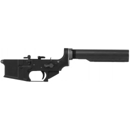 WE Tech Full Metal Lower Receiver for M4A1 GBB Airsoft Rifle - BLACK
