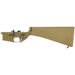 WE Tech M16 GBBR Complete Metal Lower Receiver - TAN