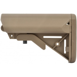 We Tech Retractable M4 SOPMOD Crane Stock - DARK EARTH