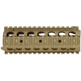 WE Tech CQB Carbine Length Picatinny RIS Handguard - TAN
