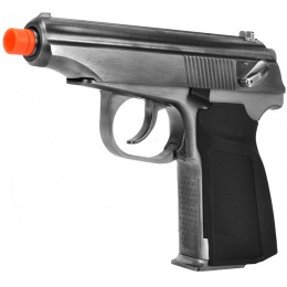 WE Tech Makarov Full Metal GBB Airsoft Pistol - Silver
