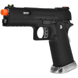 WE Tech Allosaurus Full Metal Gas Blowback Pistol - BLACK