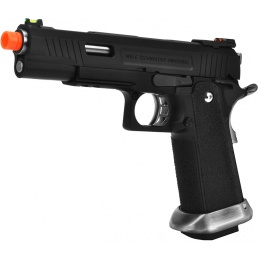 WE Tech T-Rex Full Metal Gas Blowback Pistol - BLACK