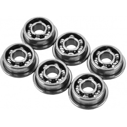 Krytac Set of 6 Caged 8mm Airsoft Ball Bearings for Trident Series AEG