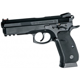 ASG CZ 75 SP-01 Metal Gas Blowback Airsoft Pistol - BLACK