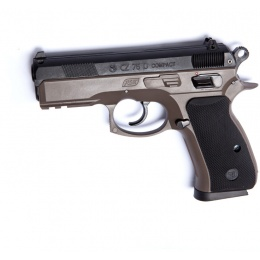 ASG CZ 75D Compact Spring Powered Airsoft Pistol - DARK EARTH