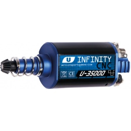 ASG Ultimate CNC Airsoft Infinity Long Axle Motor - 35,000 RPM