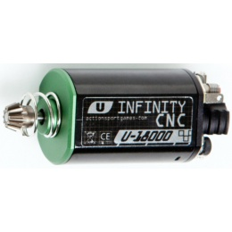 ASG Ultimate CNC Airsoft Infinity Short Axle Motor - 18,000 RPM