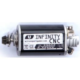 ASG Ultimate CNC Airsoft Infinity Short Axle Motor - 22,000 RPM