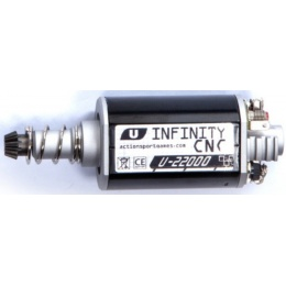 ASG Ultimate CNC Airsoft Infinity Long Axle Motor - 22,000 RPM