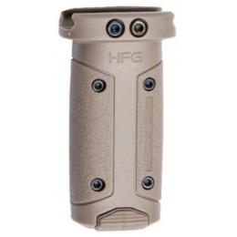 ASG HERA Fiberglass Polymer HFG Vertical Grip - TAN