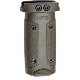 ASG HERA Fiberglass Polymer HFG Vertical Grip - OLIVE DRAB GREEN