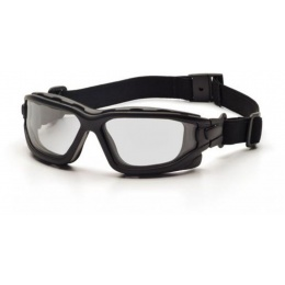 ASG Strike Systems Dual Pane Clear Anti-Fog Glasses - BLACK