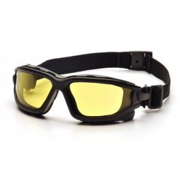 ASG Strike Systems Dual Pane Yellow Anti-Fog Glasses - BLACK