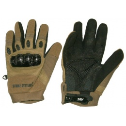 ASG Strike Systems Molded Kevlar Assault Gloves - LARGE - TAN