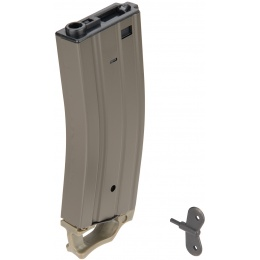 Sentinel Gears 330rd High Capacity Airsoft Magazine for M4 AEGs w/ Pull Tab - OD GREEN