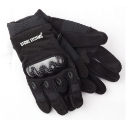 ASG Strike Systems Molded Kevlar Assault Gloves - LARGE - BLACK