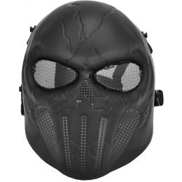 SHS Airsoft Punisher Skull Full Face Protective Mask