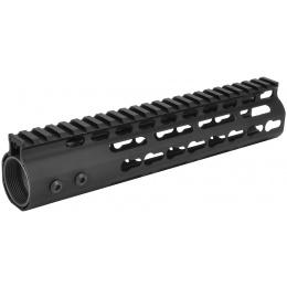 SHS Airsoft 9-Inch KeyMod RIS Metal Handguard w/ Top Rail