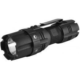 NcStar Pro Series 250-Lumen Compact LED Flashlight w/ Mode Selector