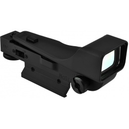NcStar Gen 2 DP Weaver Mount Red Dot Scope w/ Aluminum Body - BLACK