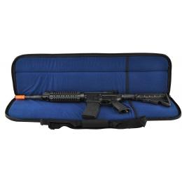 NcStar 34-Inch Heavy Duty PVC Airsoft Gun Rifle Case w/ Carry Strap