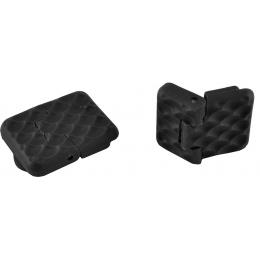 NcStar KeyMod RIS 1-Slot Customizable Rubberized Rail Covers - BLACK