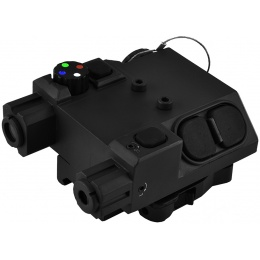 NcStar Green Laser Designator and 4 Color LED Nav Light - BLACK