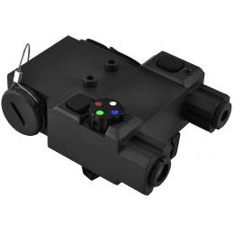 NcStar Green Laser Designator and 4 Color LED Nav Light - BLACK