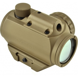NcStar Micro Green Dot Reflex Sight w/ Integrated Red Laser - TAN